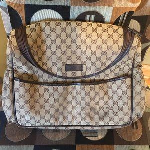 Gucci crossbody diaper bag